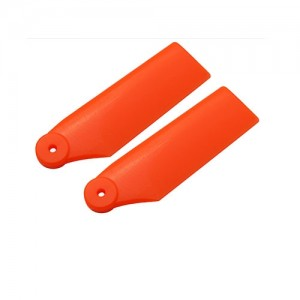 엑스캅터 - Plastic Tail Blade 34mm-Orange - Blade 180 CFX