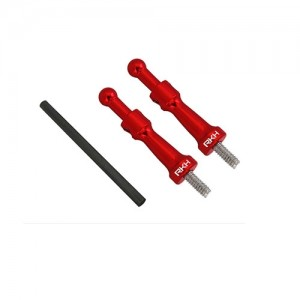 CNC AL Canopy Mount Set (Red) - Blade 180 CFX - 드론정보 & 쇼핑