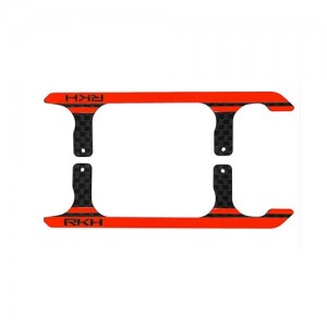 CNC CF Landing Skid Set (Black-Red) (Spare parts for 180CFX721) - Blade 180 CFX - 드론정보 & 쇼핑
