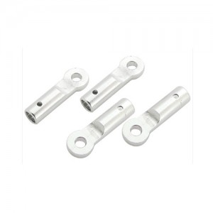 CNC AL Tail Boom Support End Set (Silver) - Blade 130X/200SRX/180CFX - 드론정보 & 쇼핑