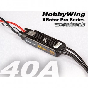 엑스캅터 - 하비윙 XRotor PRO 40A Wired Type (HobbyWing ESC)