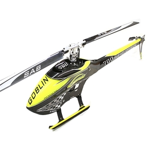 [고블린 700] SG707 - SAB GOBLIN 700 COMPETITION YELLOW/CARBON (With main and tail blades) - 드론정보 & 쇼핑