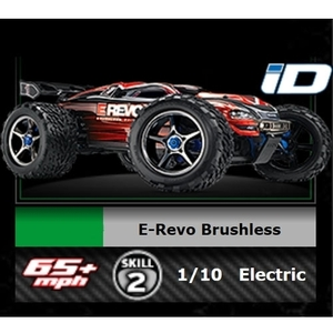 [최신형] CB56087-1 Traxxas E-Revo Brushless RTR Monster Truck - 드론정보 & 쇼핑