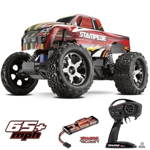 Traxxas Stampede VXL Brushless RTR Waterproof ESC w/2.4Ghz(속도 100km/h+)   - 드론정보 & 쇼핑