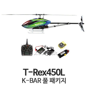 [ALIGN] T-Rex450L DOMINATOR Full Package2(6S/K-BAR Edition)  - 드론정보 & 쇼핑