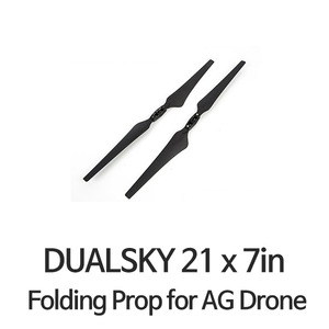 "[DUALSKY] 21x7.0"" MR Folding Prop for AG Drone - 드론정보 & 쇼핑"