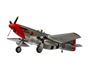 엑스캅터 - RC 비행기 E-flite P-51D Mustang 1.2m BNF w/AS3X/ RC비행기)