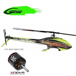 엑스캅터 - RC 헬기 SAB 고블린 BLACK THUNDER YELLOW/CARBON + XTS 4525-560kv모터
