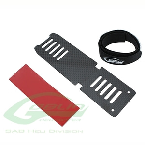 엑스캅터 - H0536-S - Carbon Fiber Battery Tray - Goblin 380