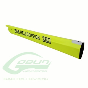 엑스캅터 - H0546-S - Carbon Fiber Tail Boom Yellow - Goblin 380