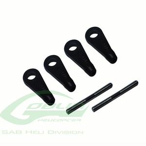 엑스캅터 - H0561-S - Main Linkage Rod Set - Goblin 380