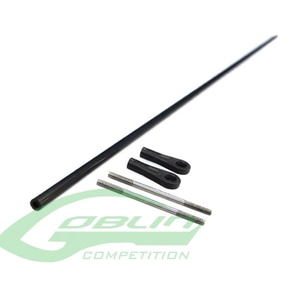 엑스캅터 - HC465-S - Tail Push Rod Ø4 X Ø2,5 X 473mm - Goblin 420 Sport