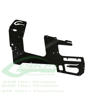 엑스캅터 - H0240-S - Carbon Fiber Main Frame(1pc) - Goblin 500