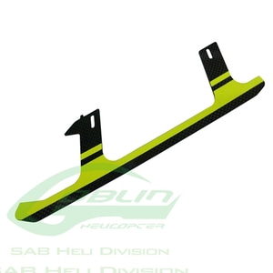 엑스캅터 - H0241-S - Carbon Fiber Landing Gear Yellow(1pc) - Goblin 500