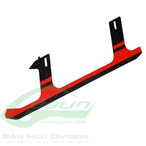 엑스캅터 - H0285-S - Carbon Fiber Landing Gear Red - Goblin 500