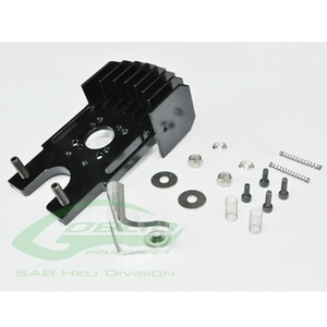 엑스캅터 - ALUMINUM COOLING MOTOR MOUNT WITH THIRD BEARING - GOBLIN 630/700/770