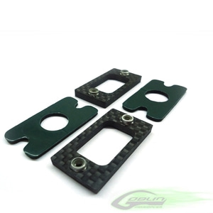 엑스캅터 - Carbon Fiber Tail Locking Reinforcement (2pcs) - Goblin 630/700/770 [H0041-S]