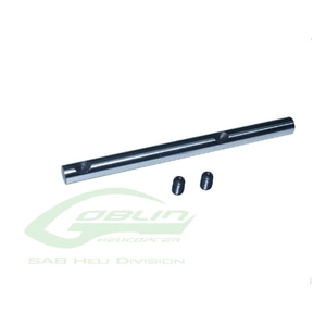 엑스캅터 - H0419-S - 3 Blades Steel Tail Shaft - Goblin Urukay/630/700/770 Competition/Speed