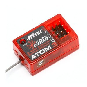 Hitec ATOM 3 2.4GHz 3 Chaanel Surface Receiver - 드론정보 & 쇼핑