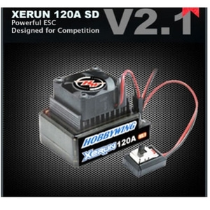 엑스캅터 - XERUN 120A SD V2.1 Brushless ESC