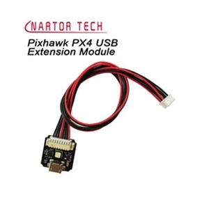 엑스캅터 - Pixhawk RGB LED & USB Extension Module w/Protective Case