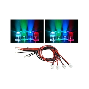엑스캅터 - 3mm LEDs (Blue, Green, Red, White) Combo - Blade 200 QX