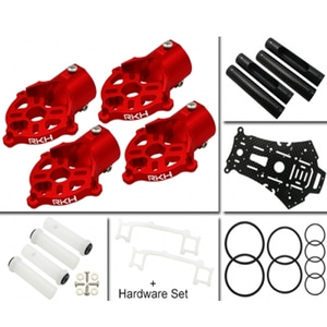 200QX to 250RQX Conversion CNC Kit (Red) - 드론정보 & 쇼핑
