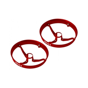 Rakonheli CNC AL 6mm Propeller Guard (Red) (for IDTX980, 982, 010E980) - 드론정보 & 쇼핑