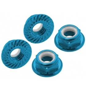 엑스캅터 - CNC AL M5 Serrated Lock Nut (CW) (Blue2)