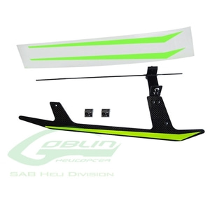엑스캅터 - CARBON FIBER LANDING GEAR SET - GOBLIN BLACK THUNDER