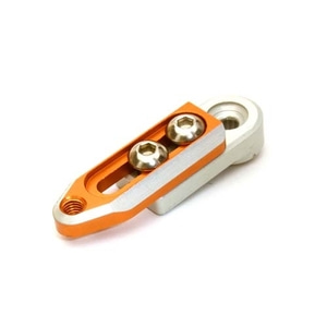 엑스캅터 - Alloy Machined Adjustable Length Servo Horn 24T for Hitec Servo (r=20-27mm) C27144ORANGE New Item