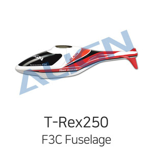 엑스캅터 - ALIGN F3C Fuselage for T-Rex250(Orange/Red)