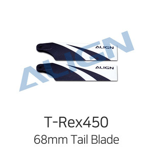 ALIGN T-Rex450L 68mm Tail Blade for Dominator 450L - 드론정보 & 쇼핑