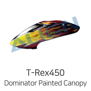 ALIGN T-Rex450L Dominator Painted Canopy - 드론정보 & 쇼핑