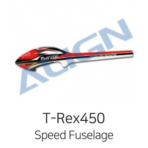 ALIGN T-Rex450L Speed Fuselage(Red&White) - 강력추천! - 드론정보 & 쇼핑