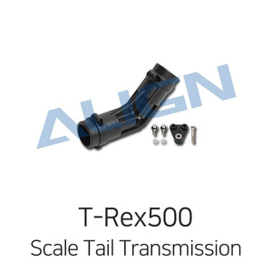 엑스캅터 - ALIGN 500 Scale Fuselage Angled Tail Transmission Set(for UH-60/AH-1)