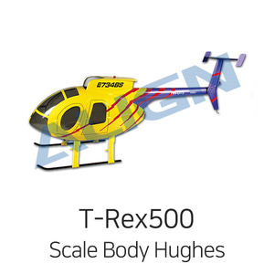 드론장 - 얼라인 티렉스 500 Scale Body Hughes-500E(Tiger Stripe) - QCB