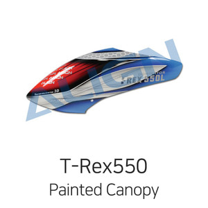 ALIGN T-Rex550L Painted Canopy - 드론정보 & 쇼핑