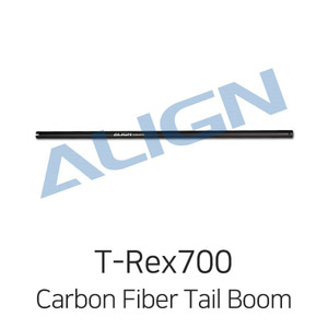 엑스캅터 - 얼라인 티렉스 700N DFC Carbon Fiber Tail Boom - Matt Black