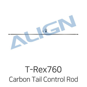 엑스캅터 - ALIGN T-Rex760X Carbon Tail Control Rod Assembly