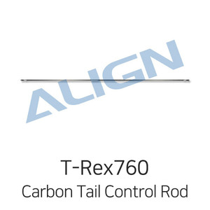 엑스캅터 - ALIGN T-Rex800E Carbon Tail Control Rod Assembly