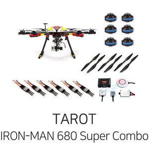 엑스캅터 - 타롯 IRON-MAN 680 PRO HEXA COPTER Super Combo(ZYX-M/6S/Retractable)