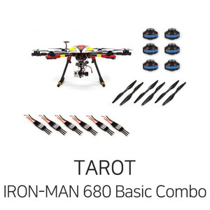 엑스캅터 - 타롯 IRON-MAN 680 PRO HEXA COPTER Basic Combo(6S/Retractable)
