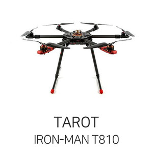 엑스캅터 - 타롯 IRON-MAN T810 Sports Hexa Frame Kit - V4(w/Retractable Landing Gear)