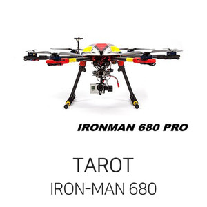 엑스캅터 - 타롯 IRON-MAN 680 PRO HEXA COPTER(Deluxe KIT/Retractable)