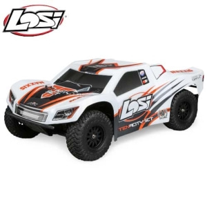 엑스캅터 - 테나시티 LOSI Tenacity SCT 4WD Short Course Truck AVC 1:10 RTR (white/orange)