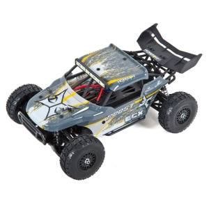 엑스캅터 - 1/18th Roost 4WD Desert Truck Grey/Yellow RTR[루스트 데저트버기]
