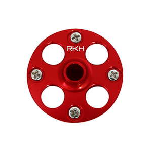 드론장 - CNC AL Main Gear Hub Set (Red) - Blade 200SRX/S
