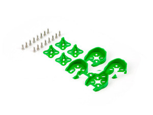 엑스캅터 - [TR] 22xx Series Motor Protection Cover/Skid Set(4Set/Green)