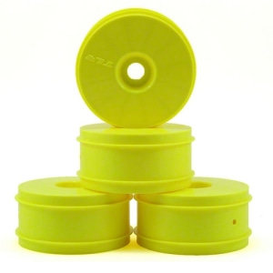 엑스캅터 - 1/8 Buggy Dish Wheel, Yellow (4): 8B 3.0,4.0 휠